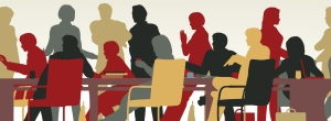 http://www.dreamstime.com/stock-image-busy-meeting-image17735251