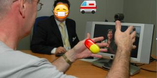 analoge møder kan med fordel erstattes af videotolkning og videokonferencer